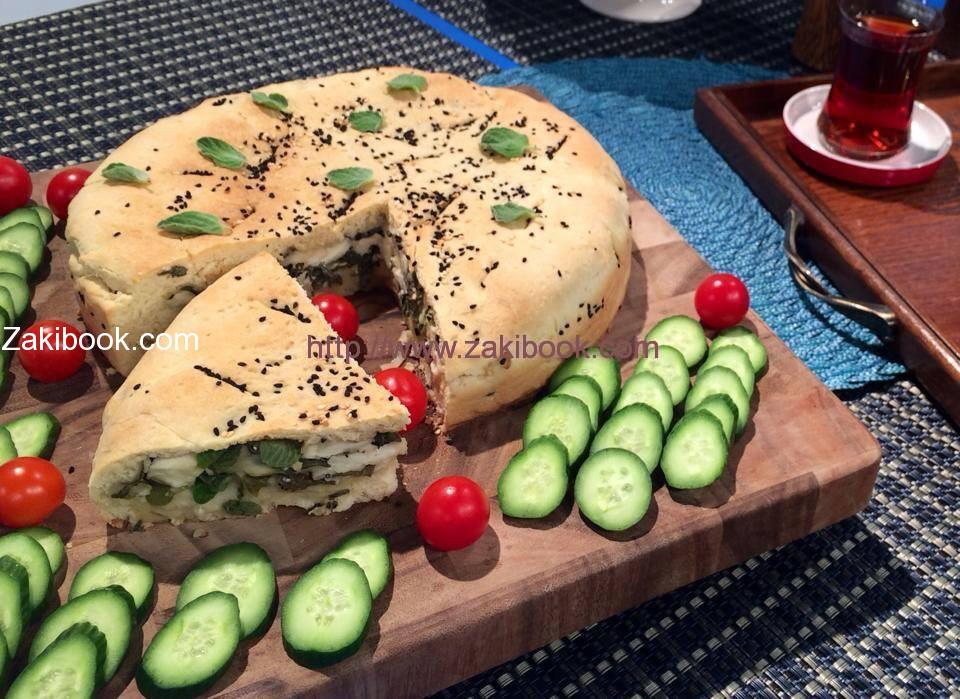 Loaf stuffed Cheese and Thyme