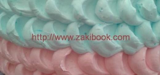 تزيين الكيكة