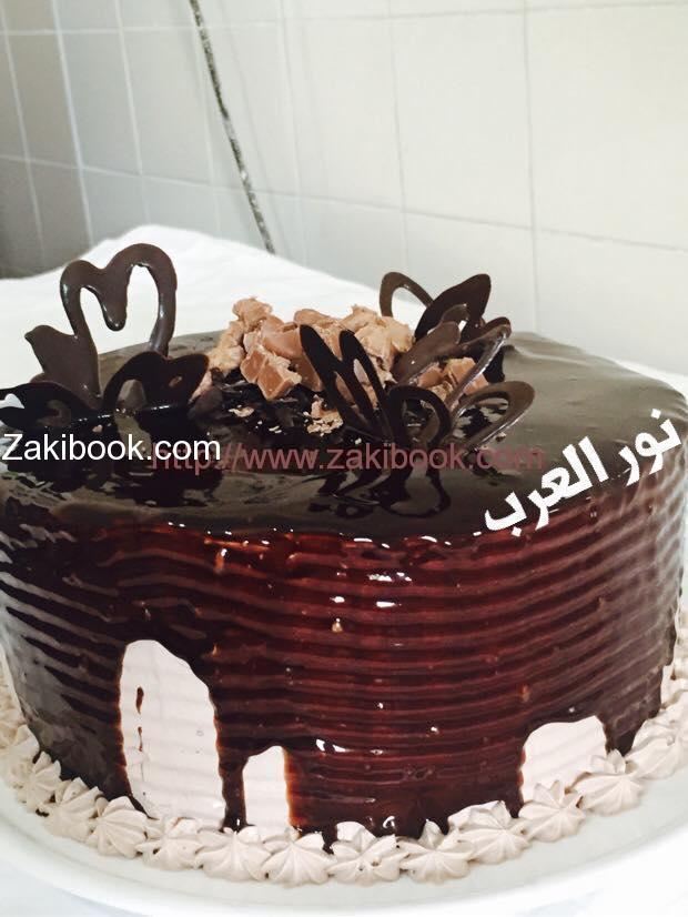 جاتوه الشكولاتة الفاخر, The luxurious chocolate cake