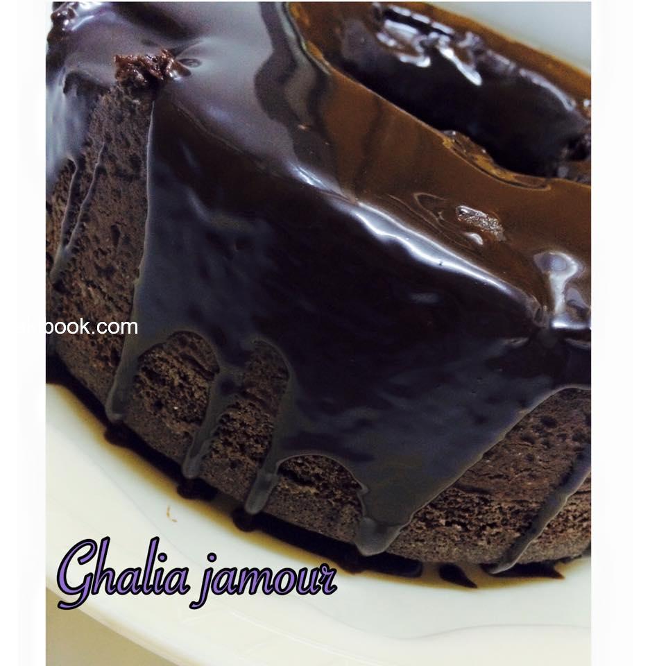 طريقة عمل كيك الشوكولاتة