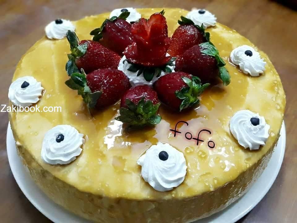 طريقة عمل اسبونج كيك او الكيكة الاسفنجية