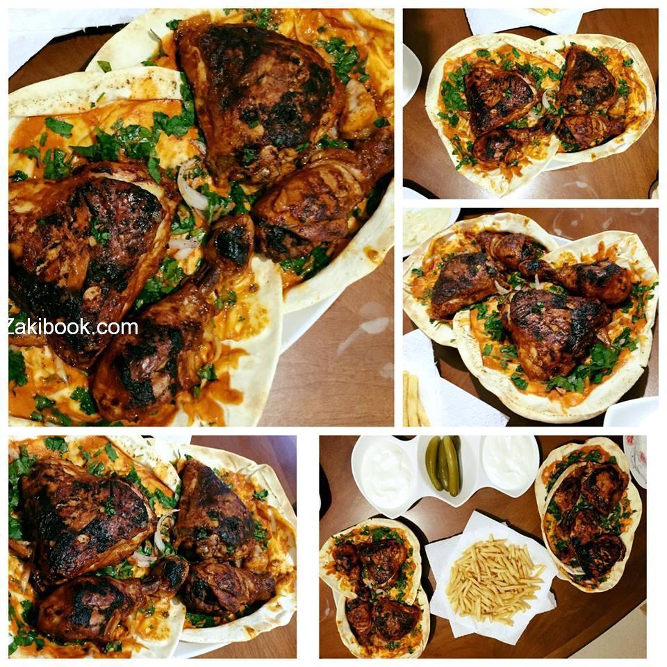 دجاج مشوي في الفرن على الطريقة التركية