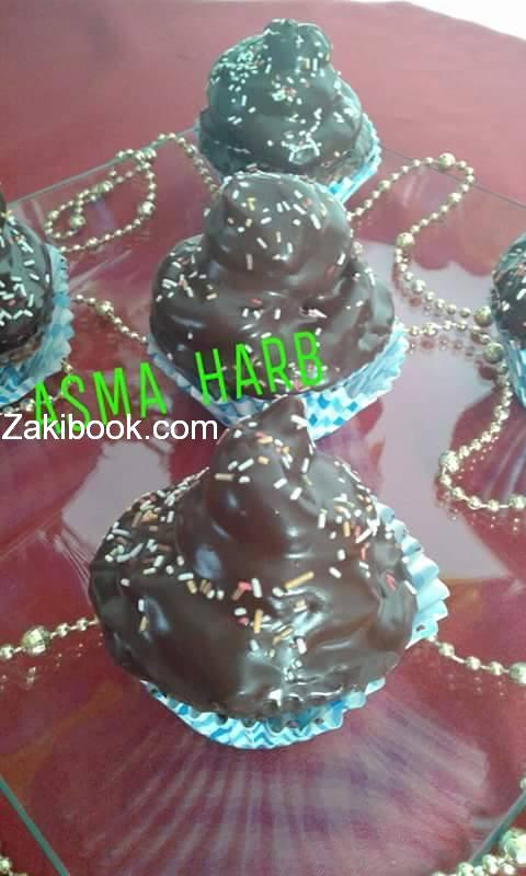كيكة القبعة Hi Hat Cupcakes chocolate