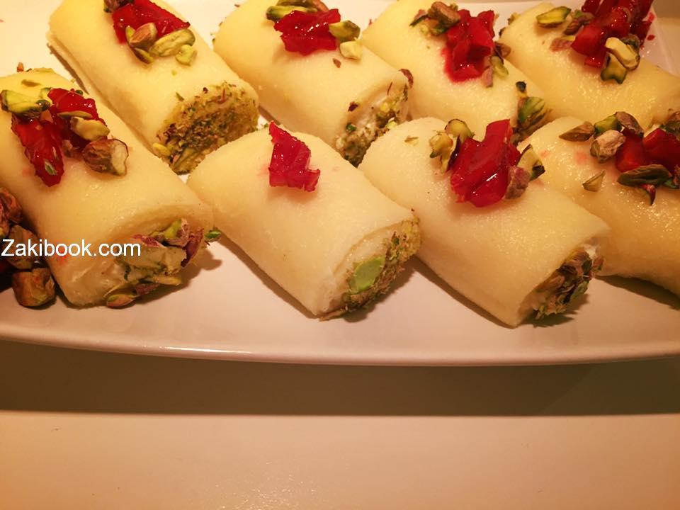 حلاوة الجبن الطرابلسية زاكي