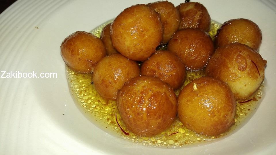 جلاب جامون حلوى من الهند
