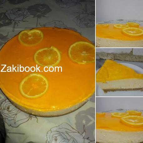 أفضل طريقة لعمل تشيز كيك البرتقال