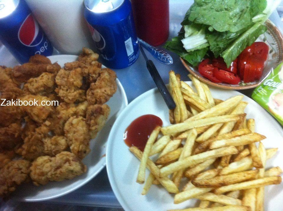 ساندويشات الدجاج المقرمش