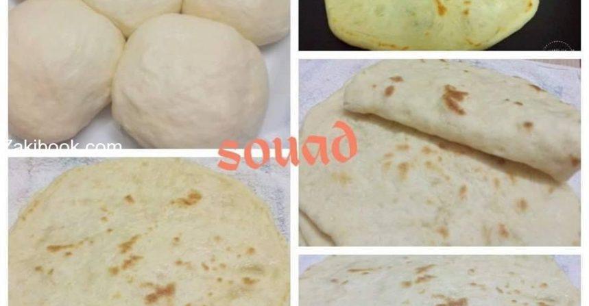 عجينة خبز الصاج