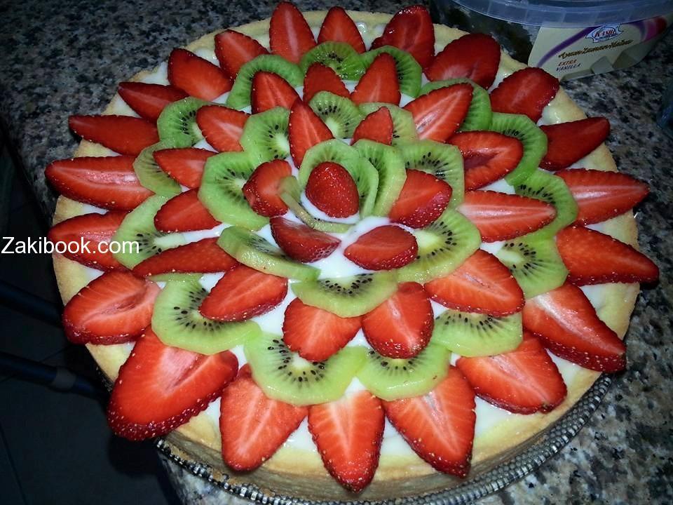 أبسط وأسهل وصفة لتارت الفواكه المميز