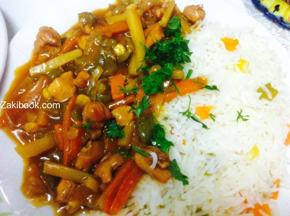الدجاج على الطريقة الصينية هونج شوانج ينج