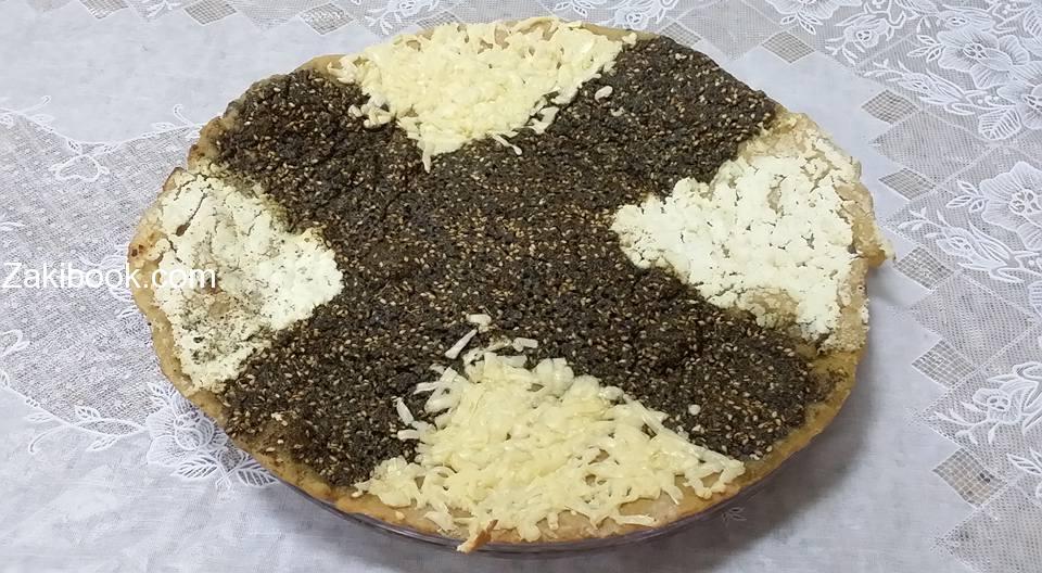 وصفات صحية فطيرة الجبن والزعتر بالشوفان