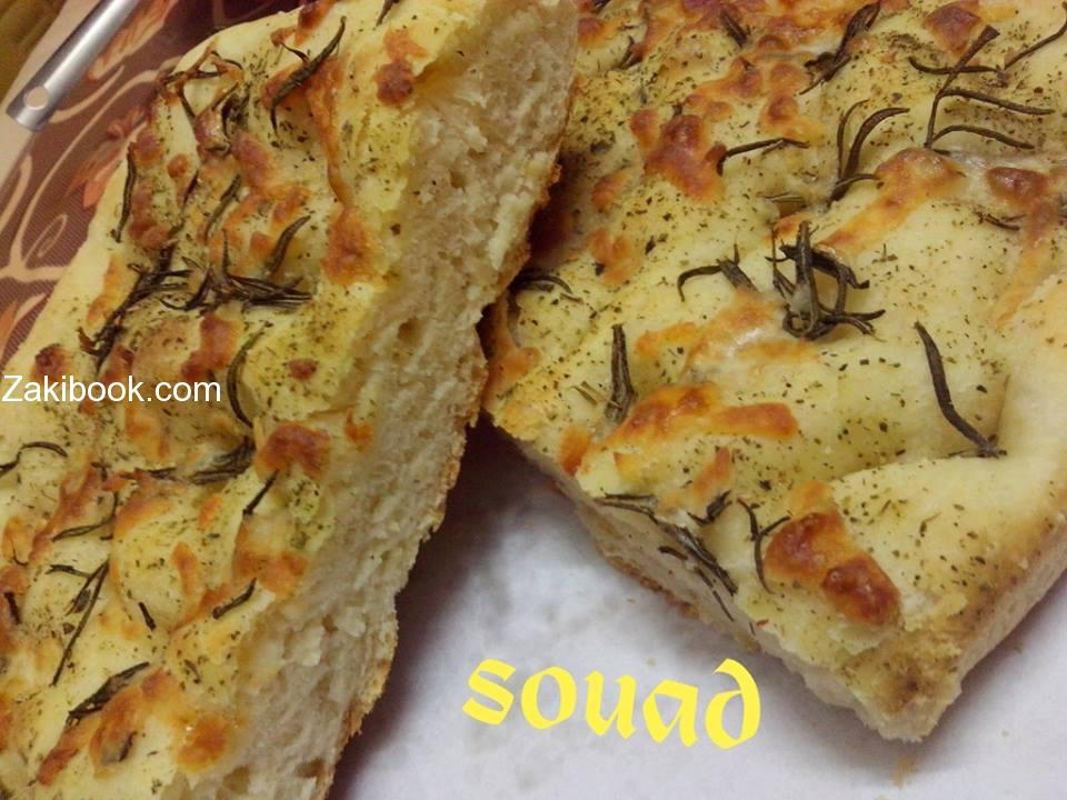 خبز الأعشاب على الطريقة الايطالية