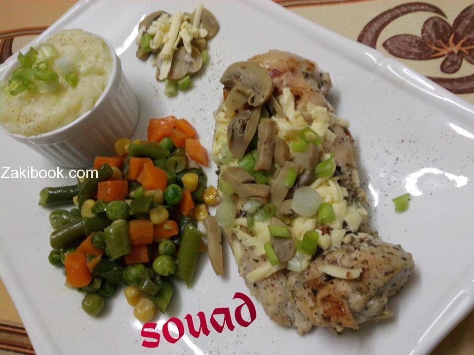 صدور الدجاج المقلية على طريقة المطاعم