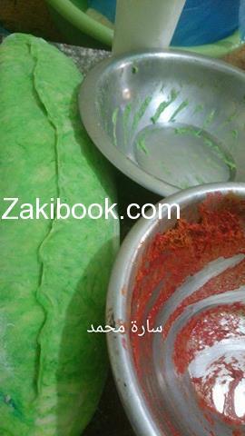 خبز الباجيت باجمل اللون متل البطيخ