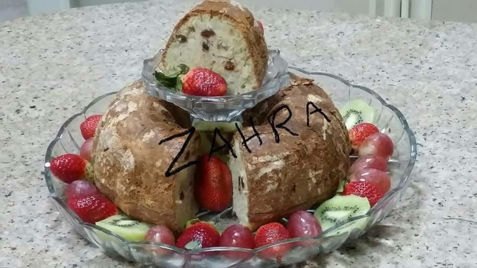 طريقة عمل كيكة التفاح للدايت