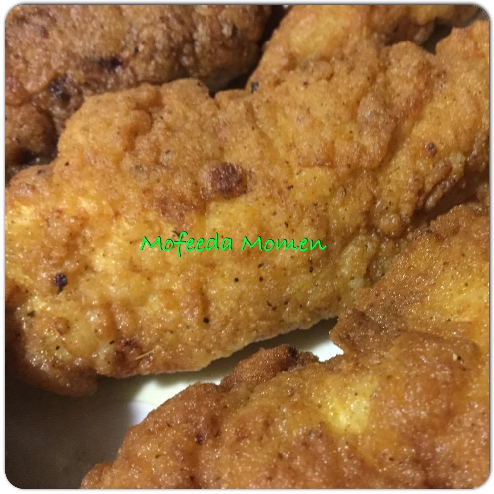 صدور الدجاج الكرسبي