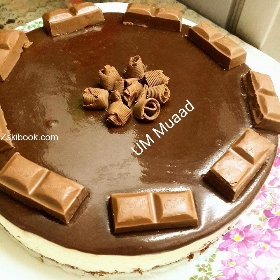 تشيز كيك الشوكولا