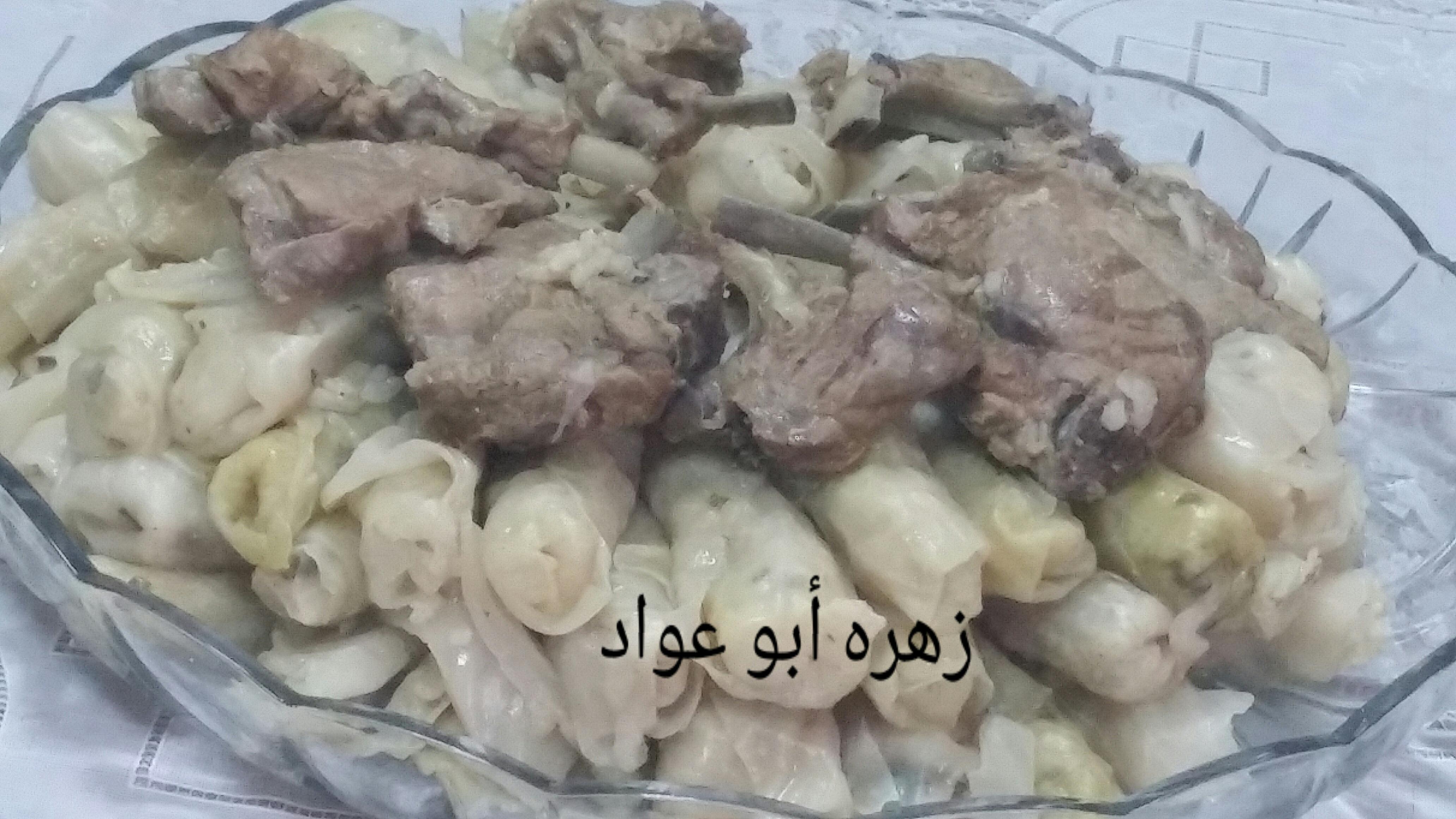 ملفوف بريش اللحمه
