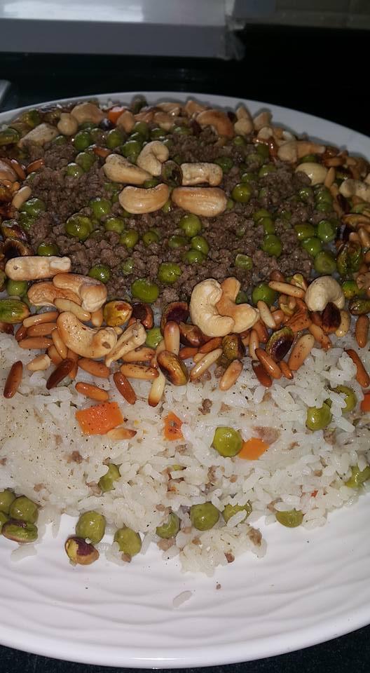 الأرز بالبازيلاء على الطريقة الملكية