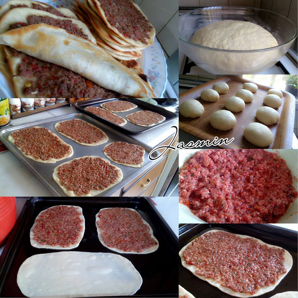 لحم بالعجين على الطريقة السورية التراثية - زاكي