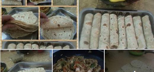 فاهيتا وخبز التورتيلا عالقلاية