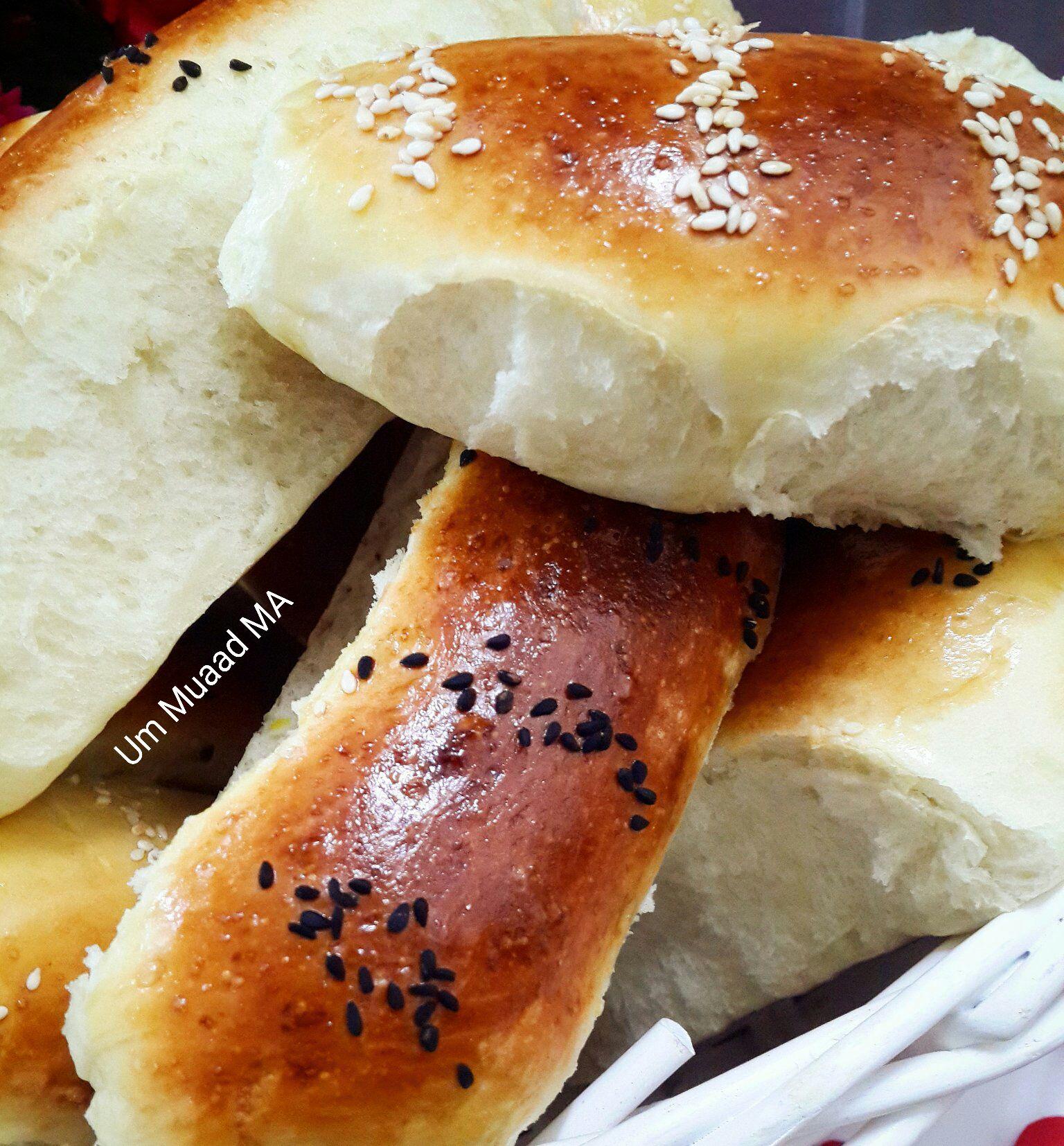 خبز قطني بنكة الحامض