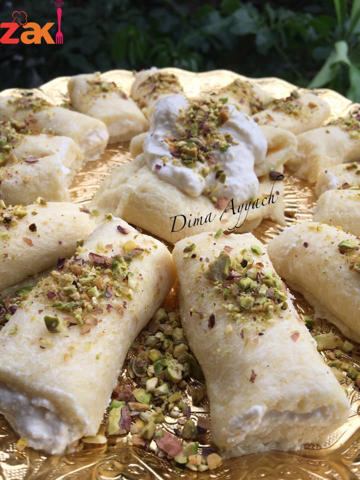 حلاوة الجبن السورية و ع أصولها