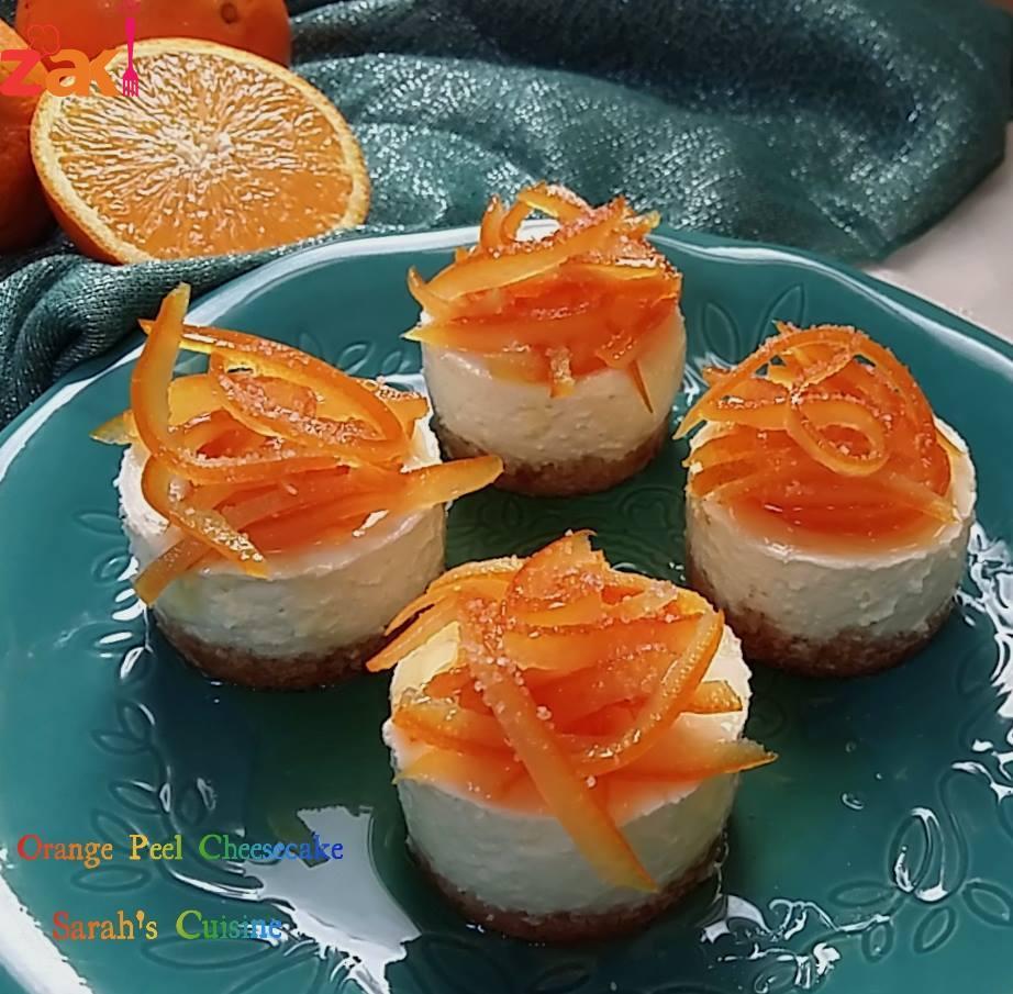 تشيز كيك البرتقال طعمتها وريحتها و شكلها منعش فوق فوق الوصف
