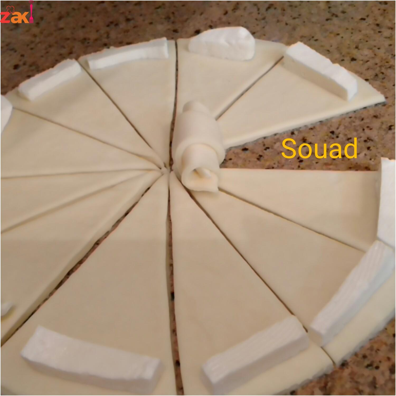 فطائر الجبن الشهية بعجينة هشة