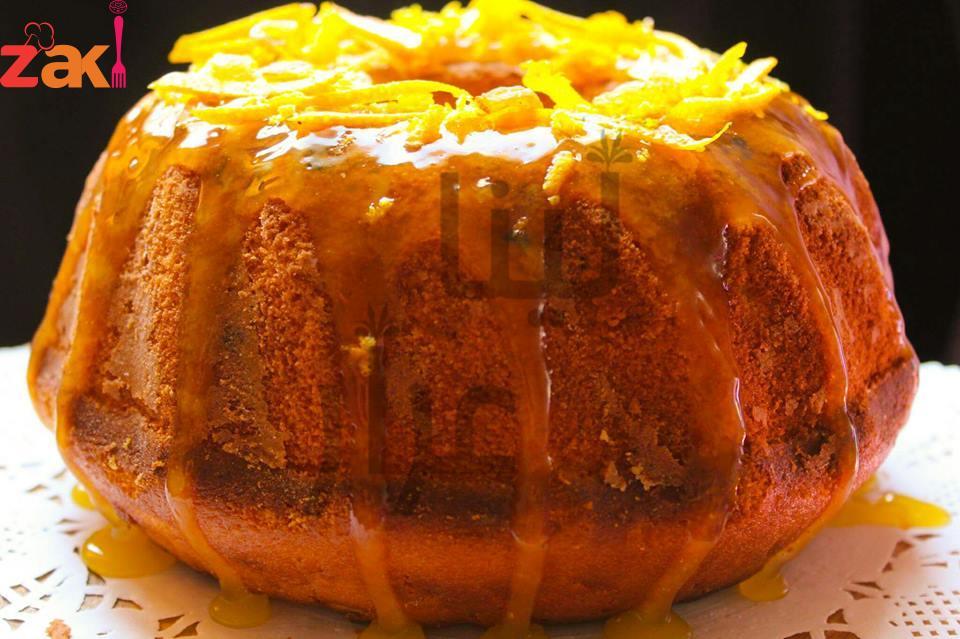 كيكة البرتقال وجبة كاملة متكاملة وصحية