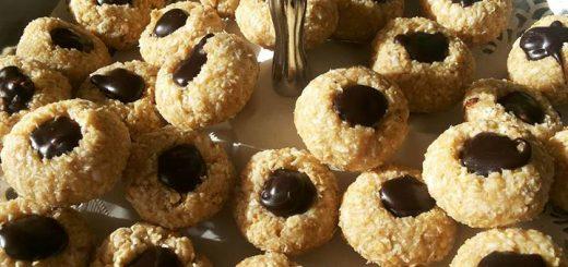حلى الشوفان أروع حلوى لأطفالكم ياخدوها للمدرسة