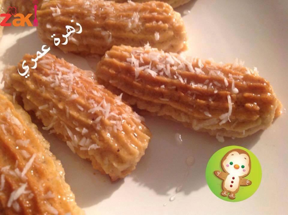 حلوى تركية سهلة ومن مكونات البيت والطعم روووعة
