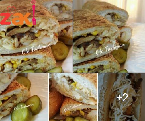 فرانسيسكو دجاج طعم سوبر يمي .. مين متلي بحب ساندوش ??
