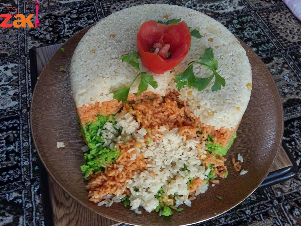 كيكة الأرز شو رأيكم فيها؟