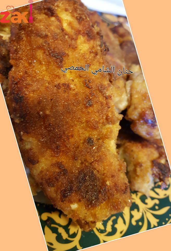 اسكالوب الدجاج بالفرن وجبة لمحبي الأكل الصحي