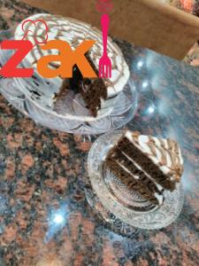 كيكة القلاية صدق أولا تصدق هذه الكيكة بالمقلاية