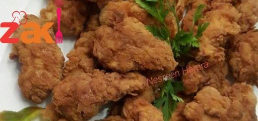 طريقة تشكن فنجرز أو اصابع الدجاج المقرمشة بتجنن