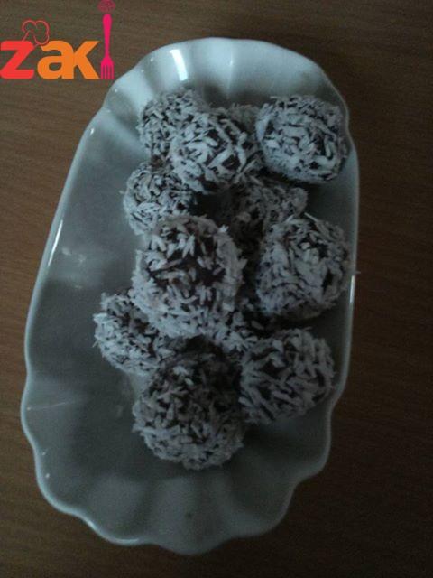 حلوى السميد بأربع مكونات فقط احفظ الوصفة على جوالك