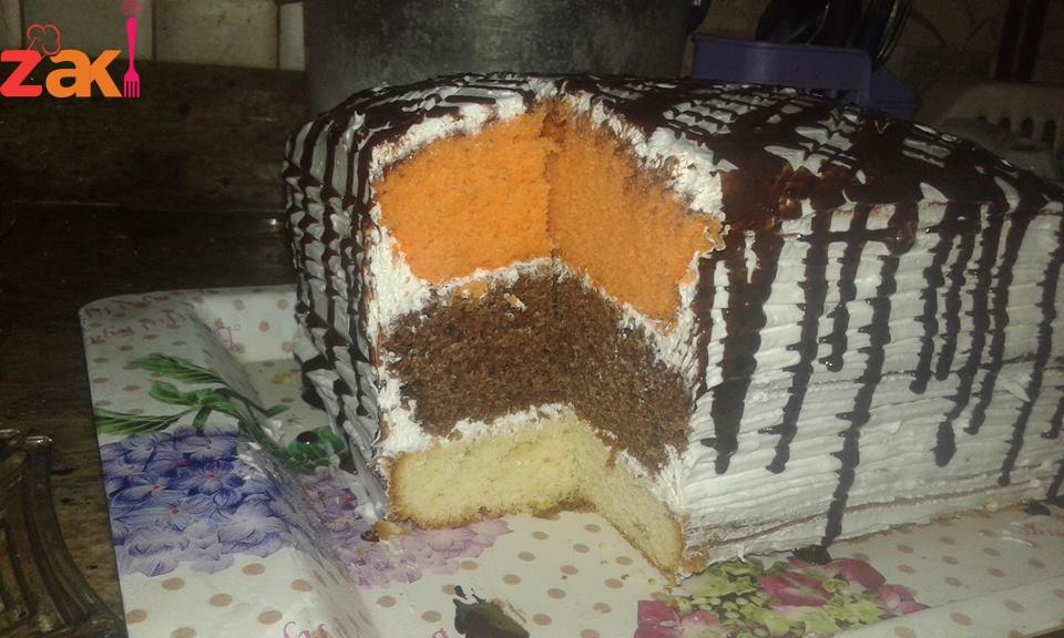 الكيكة شاهقة الارتفاع أطيب من المطاعم