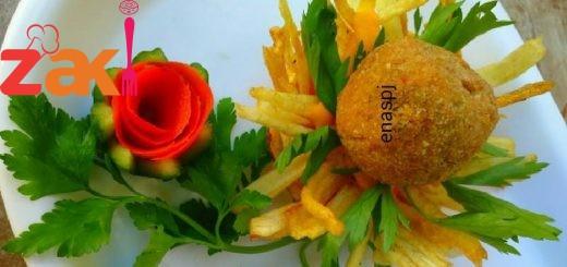 مقبلات عش البطاطا اللذيذة يمي يمي جربوها كتير سهلة