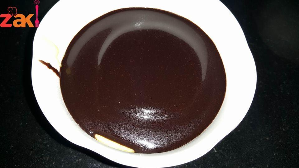 كاسترد بصوص الشوكولا حاجة روووووووعة و الطعم جنان