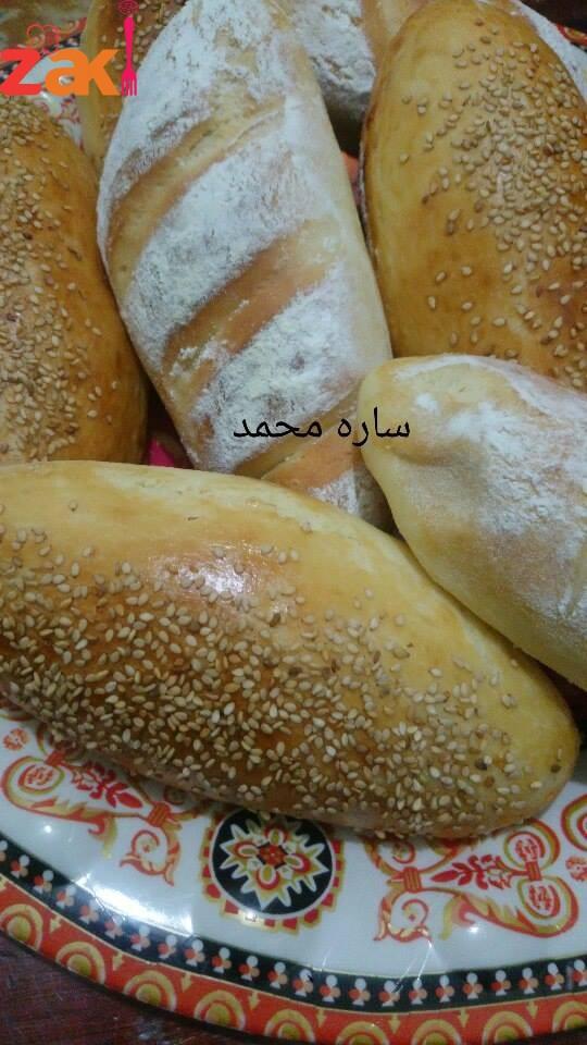 خبز الباجت أو الفينو أو الحمام طريقة سهلة و طعم رووووعة