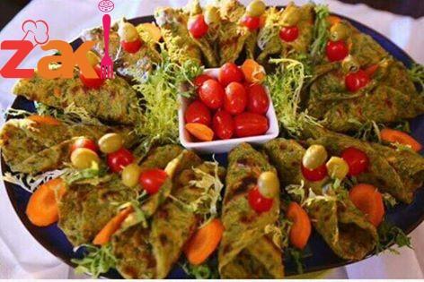 خبز عروق خضراوات كتير طيب و بشهي و الطعم ولا أروع