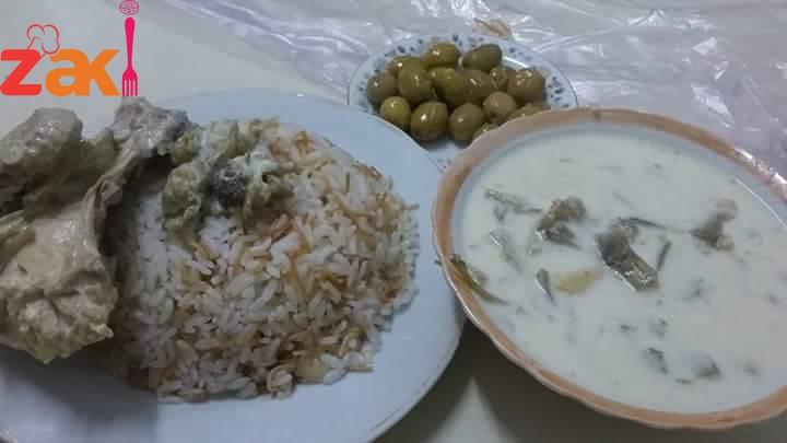 عكوب باللبن أشهى و أطيب و أفخم أكلة فلسطينية