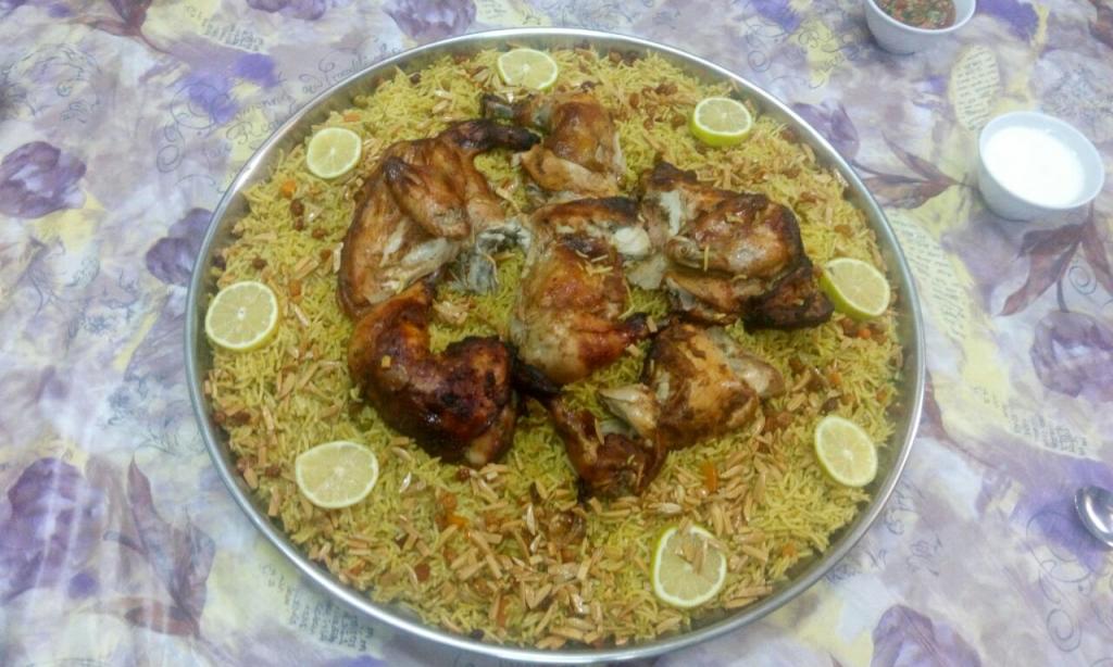 غدانا اليوم زرب دجاج مع رز اوزي