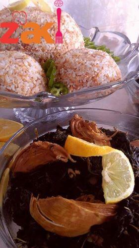 الملوخية أكلة ملوكية ع الطريقة السورية