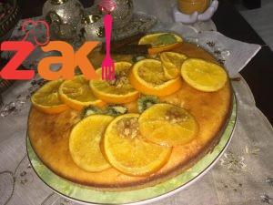 كيكة البرتقال الهشة هنلف وندور وغير هالكيكة ما بلاقي أحلى منها