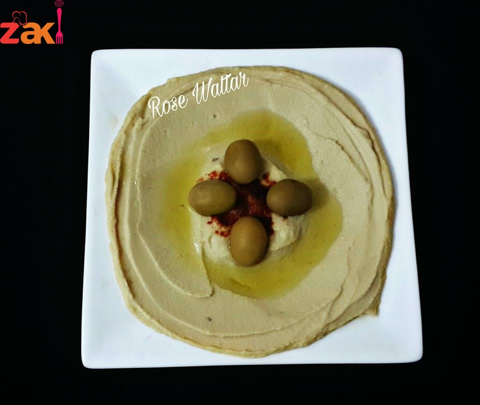 حمص بطحينه طبق مقبلات ولا اروع على الطريقة اللبنانية الأصلية