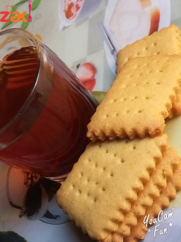 بسكوت الشاي الساده هذا شغلي مو جاهز شو رأيكم؟