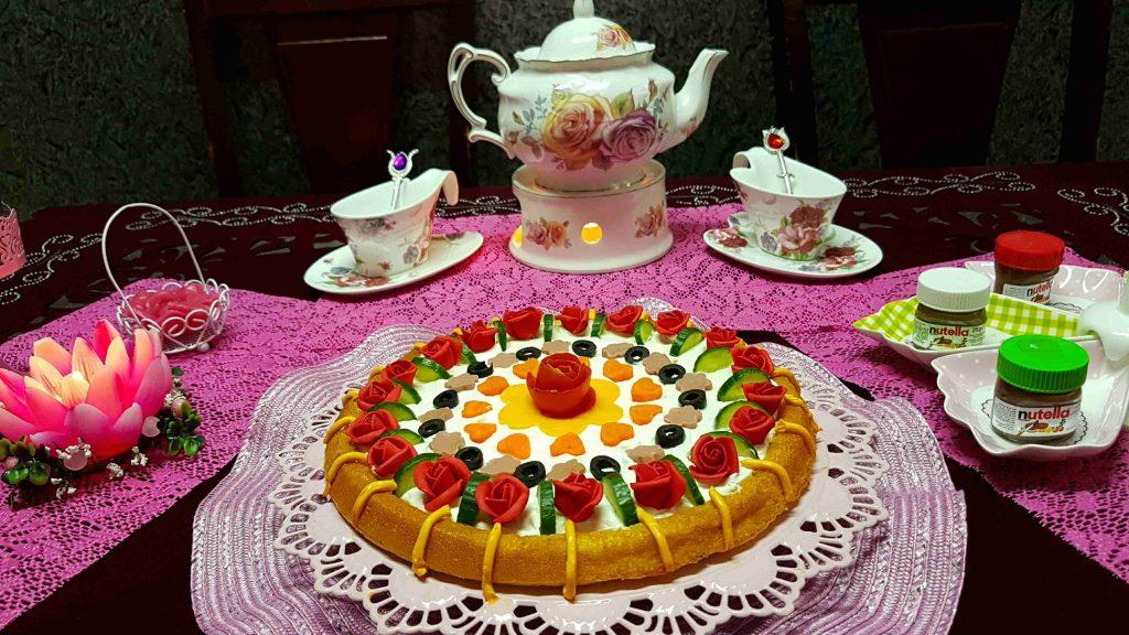 تارت مالح تعلم فن الأكل الملكي